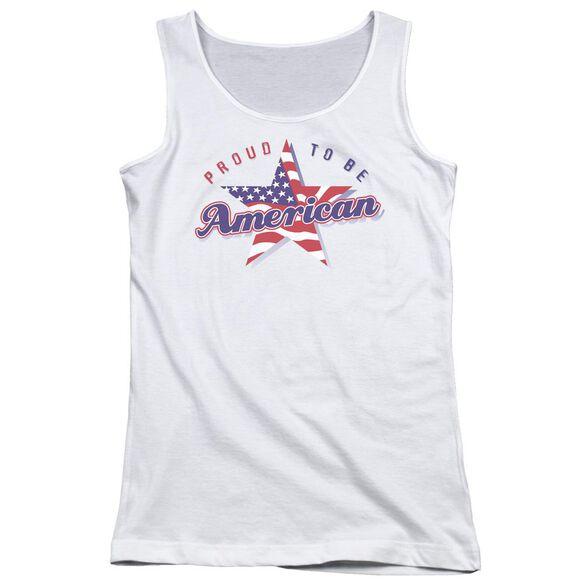 Proud To Be American Juniors Tank Top