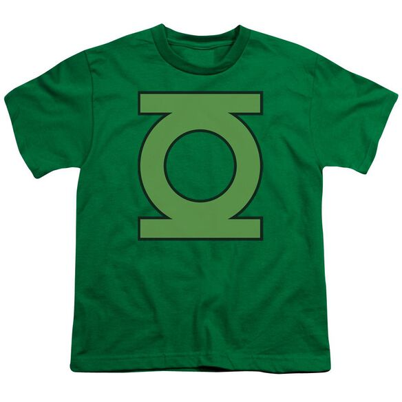 Dc Gl Emblem Short Sleeve Youth Kelly T-Shirt