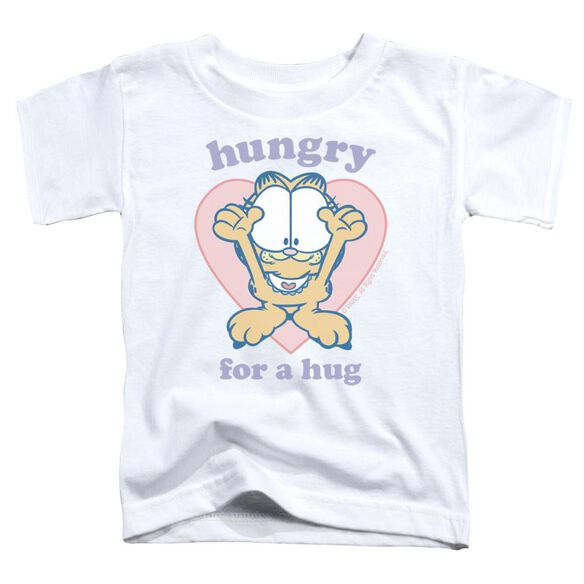 Garfield Hungry For A Hug Short Sleeve Toddler Tee White Lg T-Shirt