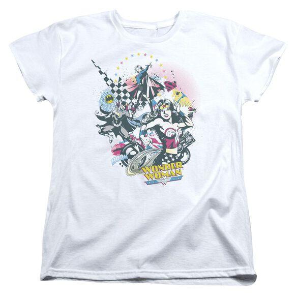 Dc Power Trio Short Sleeve Women's Tee T-Shirt