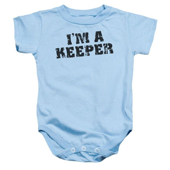 I'm A Keeper Infant Snapsuit Light Blue Xl