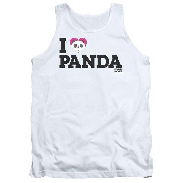 We Bare Bears Heart Panda Adult Tank