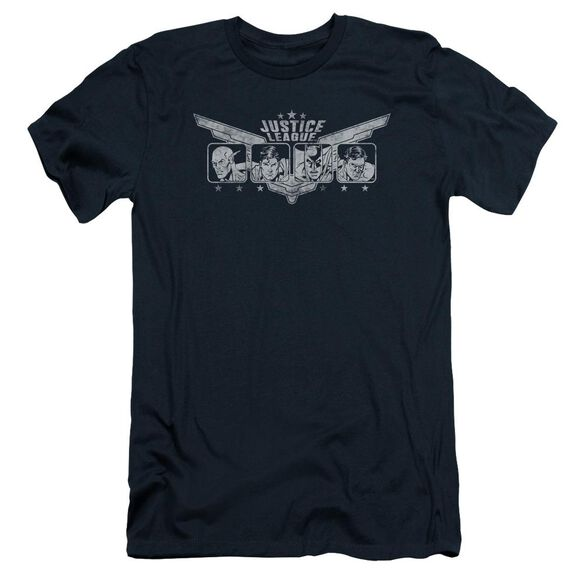 Jla Justice Wings Short Sleeve Adult T-Shirt