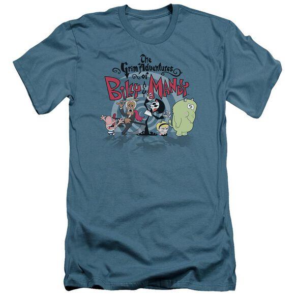 Billy & Mandy Group Shot Short Sleeve Adult T-Shirt
