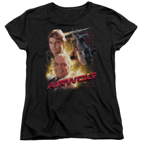 Airwolf Airwolf Short Sleeve Womens Tee T-Shirt