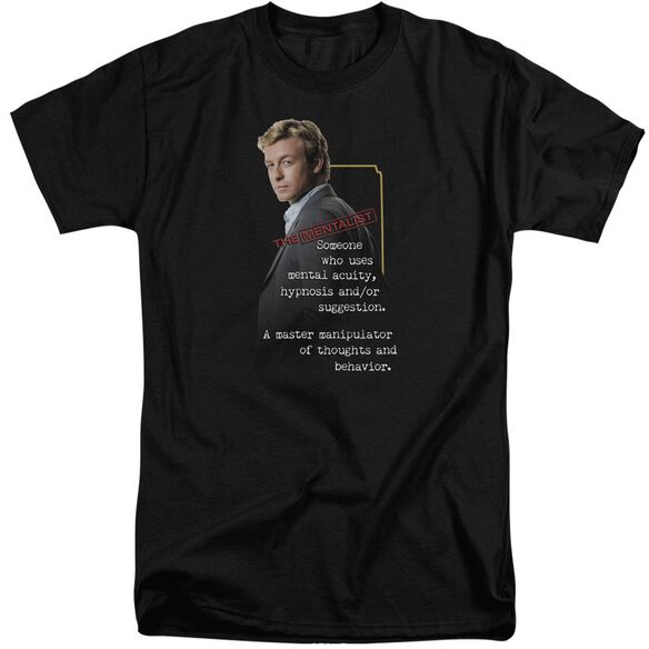 Mentalist Definition Short Sleeve Adult Tall T-Shirt