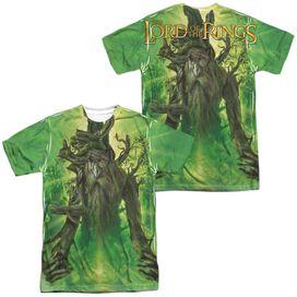 Lor Treebeard (Front Back Print) Short Sleeve Adult Poly Crew T-Shirt