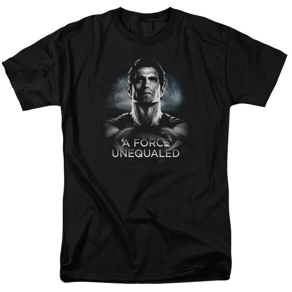 Batman V Superman Unequaled Short Sleeve Adult Black T-Shirt