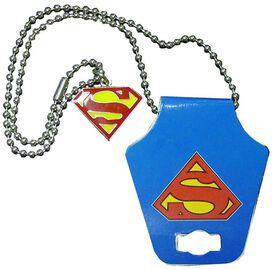 Superman Shield Logo Necklace