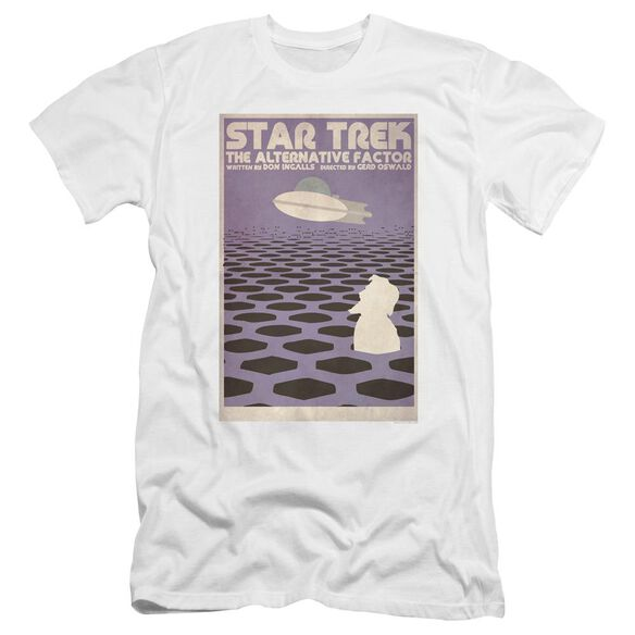 Star Trek Tos Episode 27 Premuim Canvas Adult Slim Fit