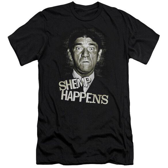 Three Stooges Shemp Happens Premuim Canvas Adult Slim Fit