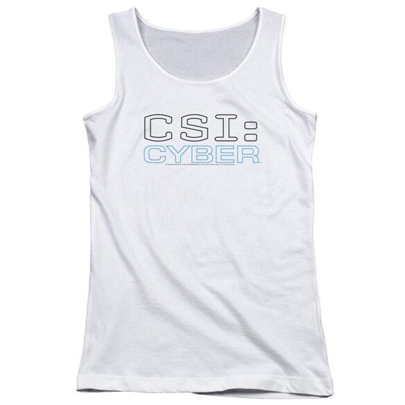 Csi: Cyber Logo Juniors Tank Top