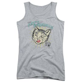 Puss N Boots Cats Pajamas Juniors Tank Top Athletic
