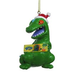Reptar (with Reptar Bar) Ornament