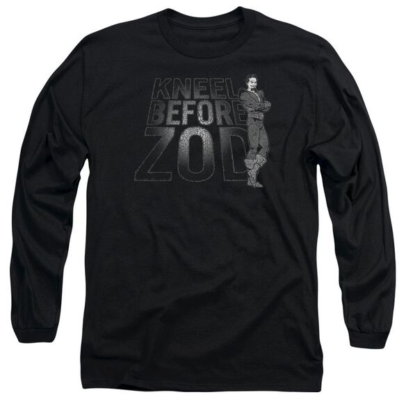 Dc Kneel Zod Long Sleeve Adult T-Shirt