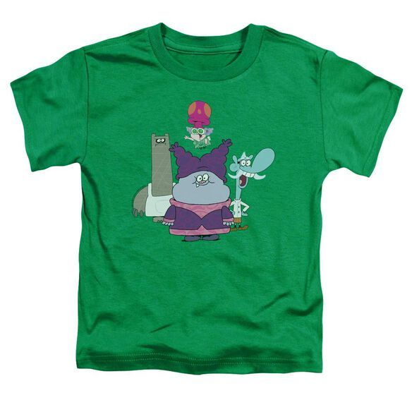 Chowder Group Short Sleeve Toddler Tee Kelly Green Sm T-Shirt