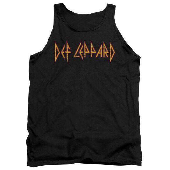 Def Leppard Horizontal Logo Adult Tank