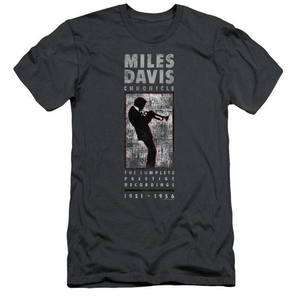 Miles Davis Miles Silhouette Short Sleeve Adult T-Shirt