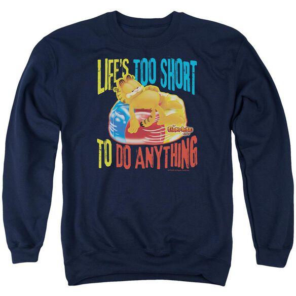 Garfield Too Short Adult Crewneck Sweatshirt