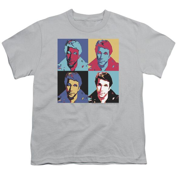 Happy Days Fonz Pop Short Sleeve Youth T-Shirt