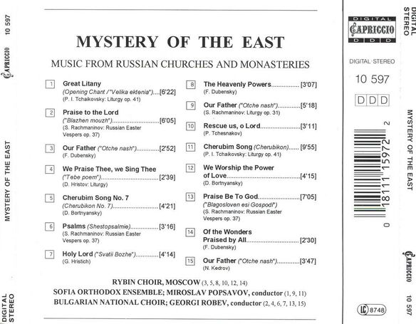 Mystery Of The East:Russi