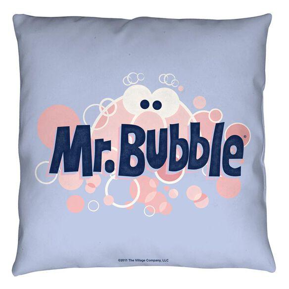 Mr Bubble Eye Logo Throw