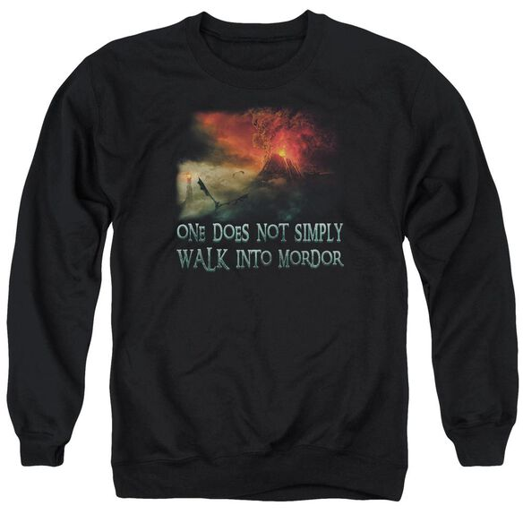 Lor Walk In Mordor Adult Crewneck Sweatshirt