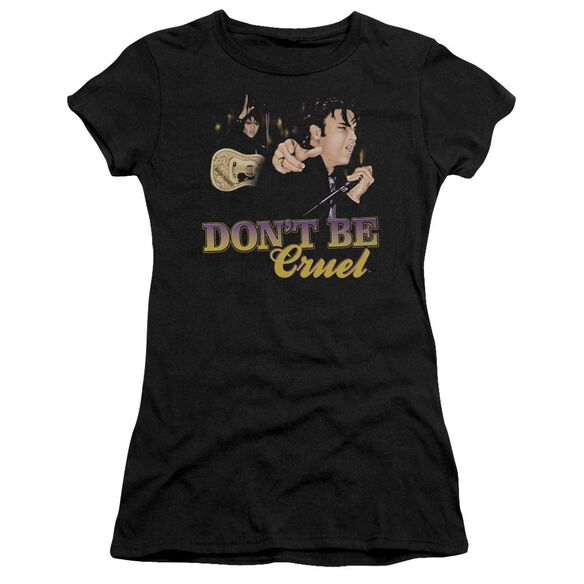 Elvis Don't Be Cruel Short Sleeve Junior Sheer T-Shirt
