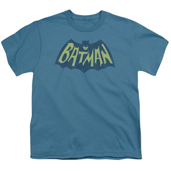 Batman Show Bat Logo Short Sleeve Youth T-Shirt