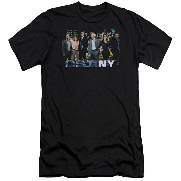 Csi Ny Cast Short Sleeve Adult T-Shirt