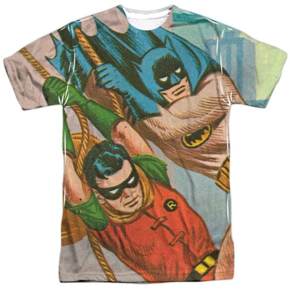 Batman Classic Tv Nightly Patrol Short Sleeve Adult Poly Crew T-Shirt