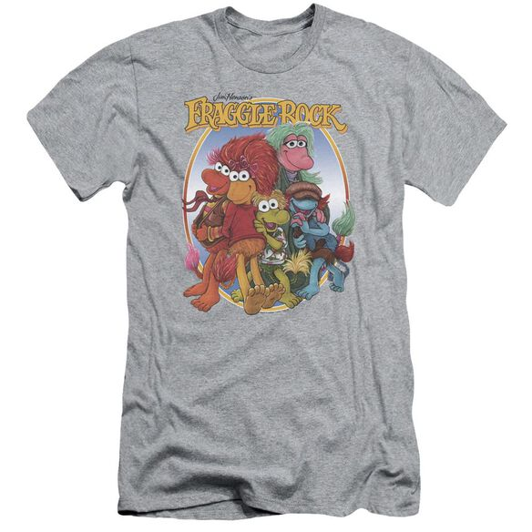 Fraggle Rock Group Hug Short Sleeve Adult Athletic T-Shirt