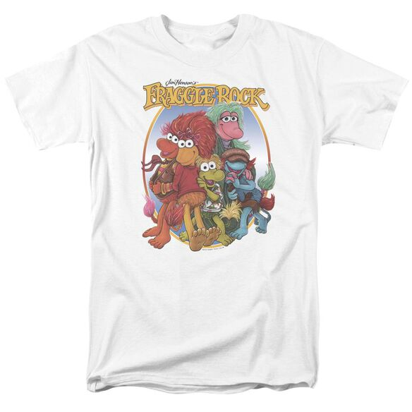 Fraggle Rock Group Hug Short Sleeve Adult T-Shirt