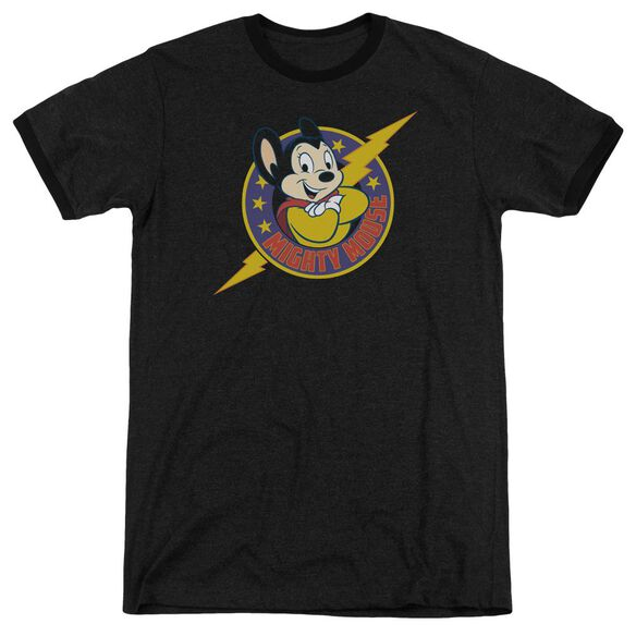 Mighty Mouse Mighty Hero Adult Heather Ringer