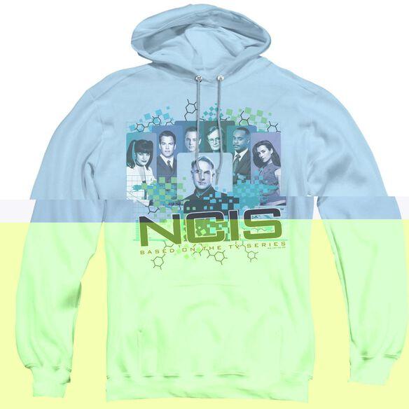 Ncis Cast - Adult Pull-over Hoodie - Light Blue
