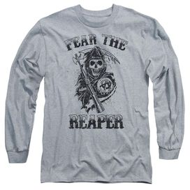 Sons Of Anarchy Fear The Reaper Long Sleeve Adult Athletic T-Shirt