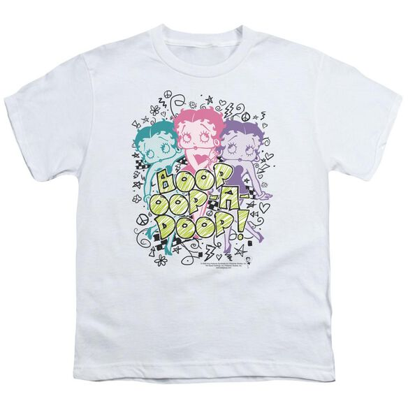 Betty Boop Sketch Short Sleeve Youth T-Shirt