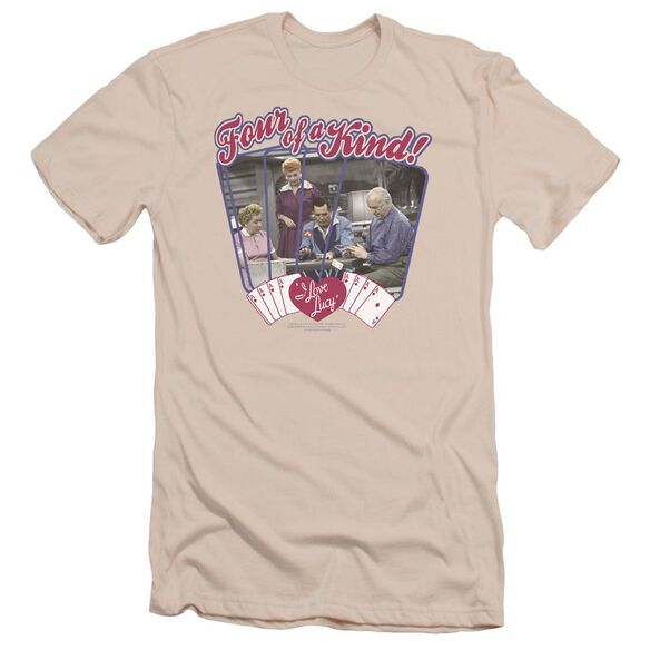 I Love Lucy Four Of A Kind Short Sleeve Adult T-Shirt