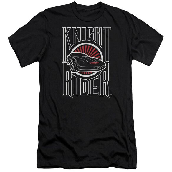 Knight Rider Logo Premuim Canvas Adult Slim Fit
