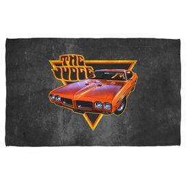 Pontiac The Judge Towel White
