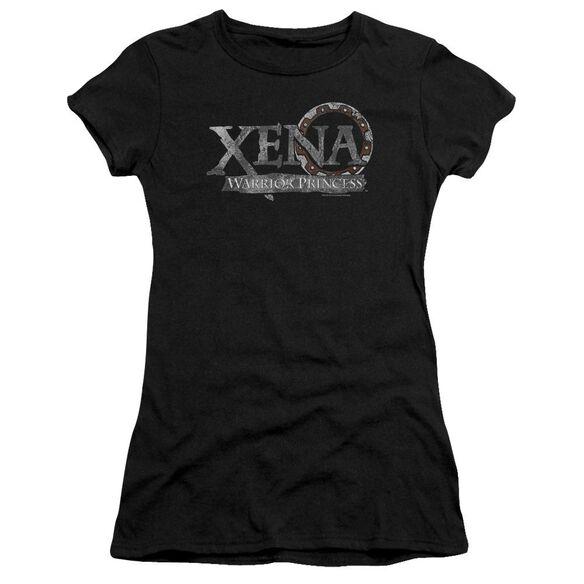Xena Battered Logo Premium Bella Junior Sheer Jersey