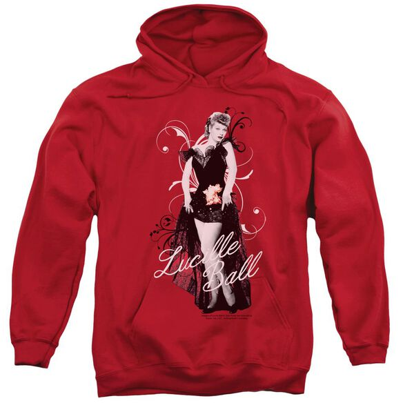 Lucille Ball Signature Look Adult Pull Over Hoodie
