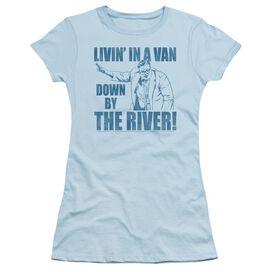 Snl Livin In A Van Short Sleeve Junior Sheer Light T-Shirt