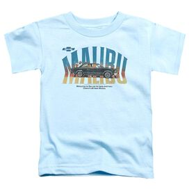 Chevrolet Thumbs Up Short Sleeve Toddler Tee Light Blue T-Shirt