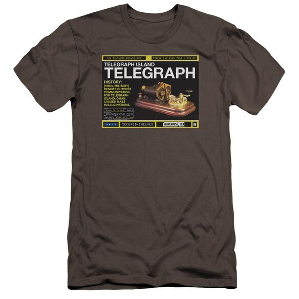 Warehouse 13 Telegraph Island Premuim Canvas Adult Slim Fit