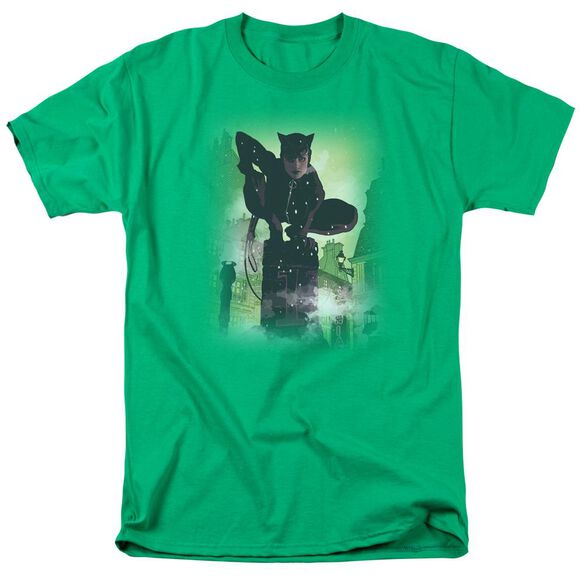 BATMAN CATWOMAN #63 COVER - S/S ADULT 18/1 - KELLY GREEN T-Shirt