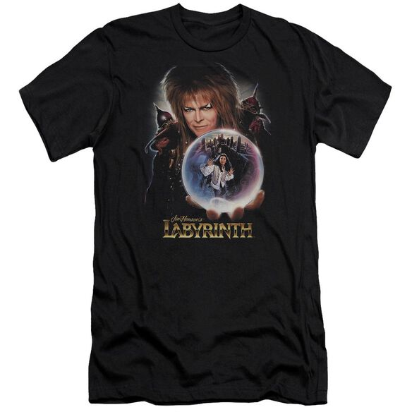 Labyrinth I Have A Gift Premuim Canvas Adult Slim Fit