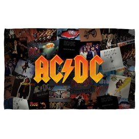 Acdc Albums Towel White