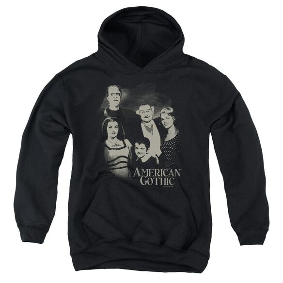 The Munsters American Gothic Youth Pull Over Hoodie