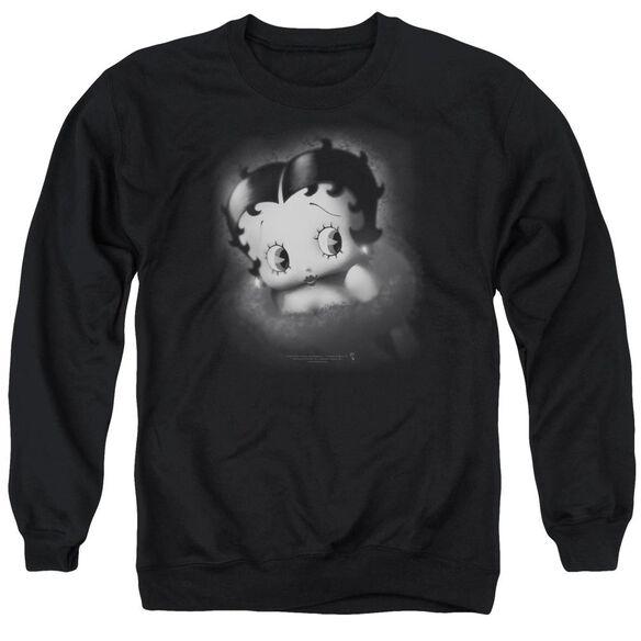 Betty Boop Vintage Star Adult Crewneck Sweatshirt